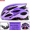 Kingbike capacete de bicicleta ultraleve, capacete de ciclismo para montanha, estrada, mtb, capacetes de luz traseira para homens e mulheres, esportes ao ar livre 22