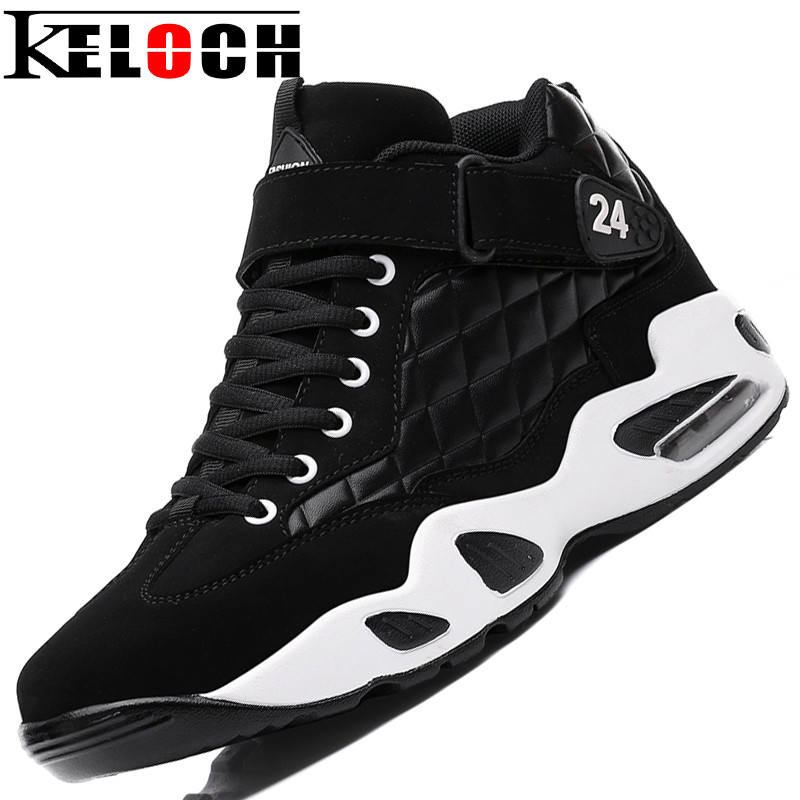 Keloch New Arrive Men Sneakers Male Breathable Basketball Shoes Men Wear-Resisting Sports Boots Basket Homme iverson basketball shoes male adolescents spring low help iverson war boots light wear antiskid sports shoes