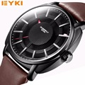 2016 EYKI Brand Luxury Men Quartz-Watches 30M Waterproof Business Military creative Watches Relogio Masculino with gift box