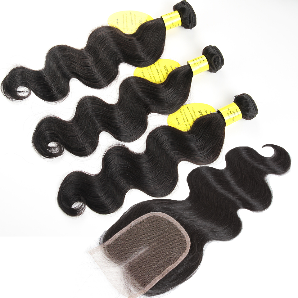 brazilian body wave with closure 7