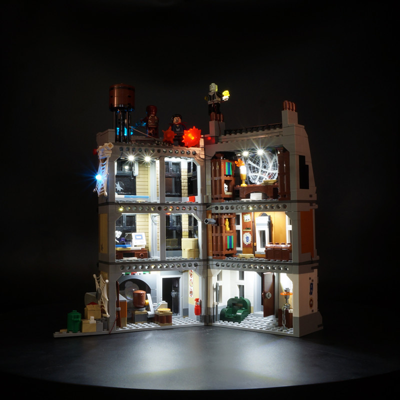 Kyglaring Led Light Up Kit For Lego 76108 Super Heroes The Sanctum Sanctorum Showdown (Not Include The Model)