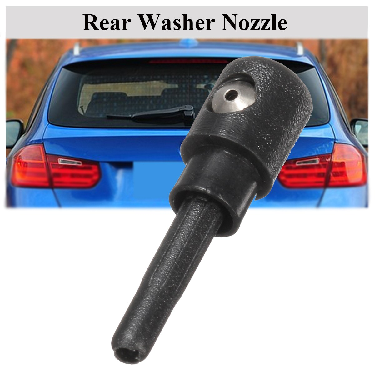 Aliexpress.com : Buy Black Rear Windscreen Washer Jet Nozzle Water Spray  For VW/Skoda/Audi/Seat from Reliable nozzle water spray suppliers on  Alidubuy ...