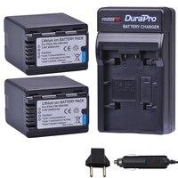 2PC VW VBK360 VW VBK360 Camera Battery + Car Charger for Panasonic HDC HS80 SD40 SD60 SD80 SDX1 SDR H100 H85 H95 HS60 HS80 TM60