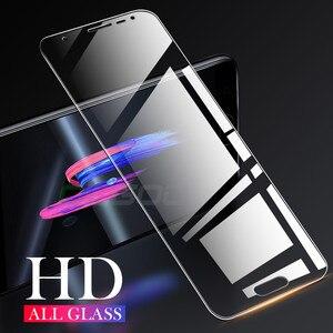 Image 4 - 3Pcs מגן זכוכית לסמסונג גלקסי A7 A9 2018 A6 A8 J4 בתוספת מסך מגן זכוכית מחוסמת עבור Samsung a50 A51 A40 J6 J4