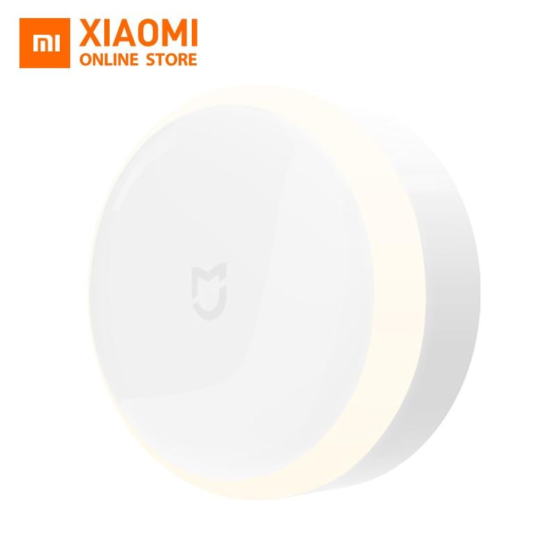 Original Xiaomi Mijia LED Corridor Night Light Infrared Remote Control Body Motion Sensor Smar Home Night Lamp Smart