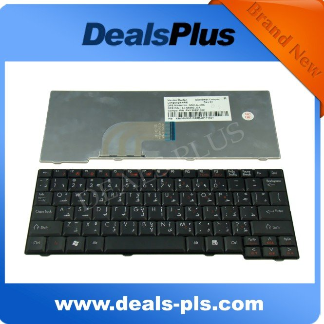 New For Acer Aspire One Zg5 D150 D250 Arabic Keyboard