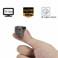 Pinhole 1080P Mini Camera 12MP Infrared Night Vision HD Sport Digital Micro Cam Motion Detection Camcorder