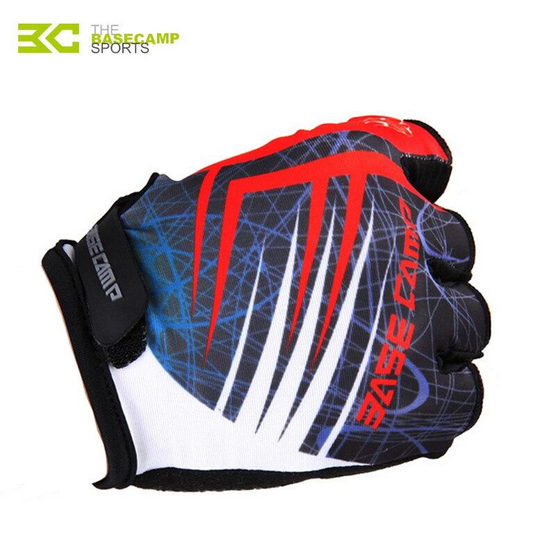 BASECAMP Cycling font b Gloves b font Breathable Pad font b Glove b font Half Finger