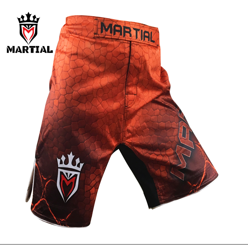 Martial: MMA bjj SHORTS MMa kamp shorts boxning män kläder muay thai män shorts kickboxen grappling shorts
