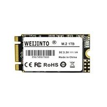 WEIJINTO m.2 SSD 2242 128 GB 256 gb 512 gb 120 GB 240 GB 1 ТБ HDD 2242 мм NGFF SSD 360 GB M2 жесткий диск для ноутбуков
