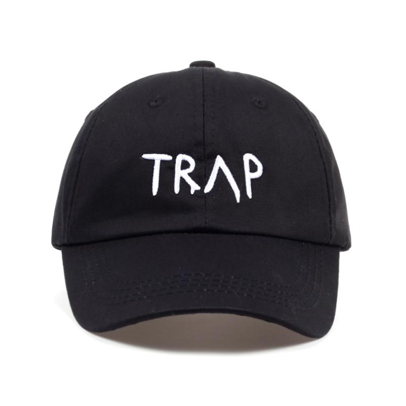58f729c3a53 100% Cotton TRAP Hat Baseball Cap Pretty Girls Like Trap Music 2 Chainz  Album Rap LP Dad Hat Hip Hop Black Hood Wholesale Custom-in Baseball Caps  from ...