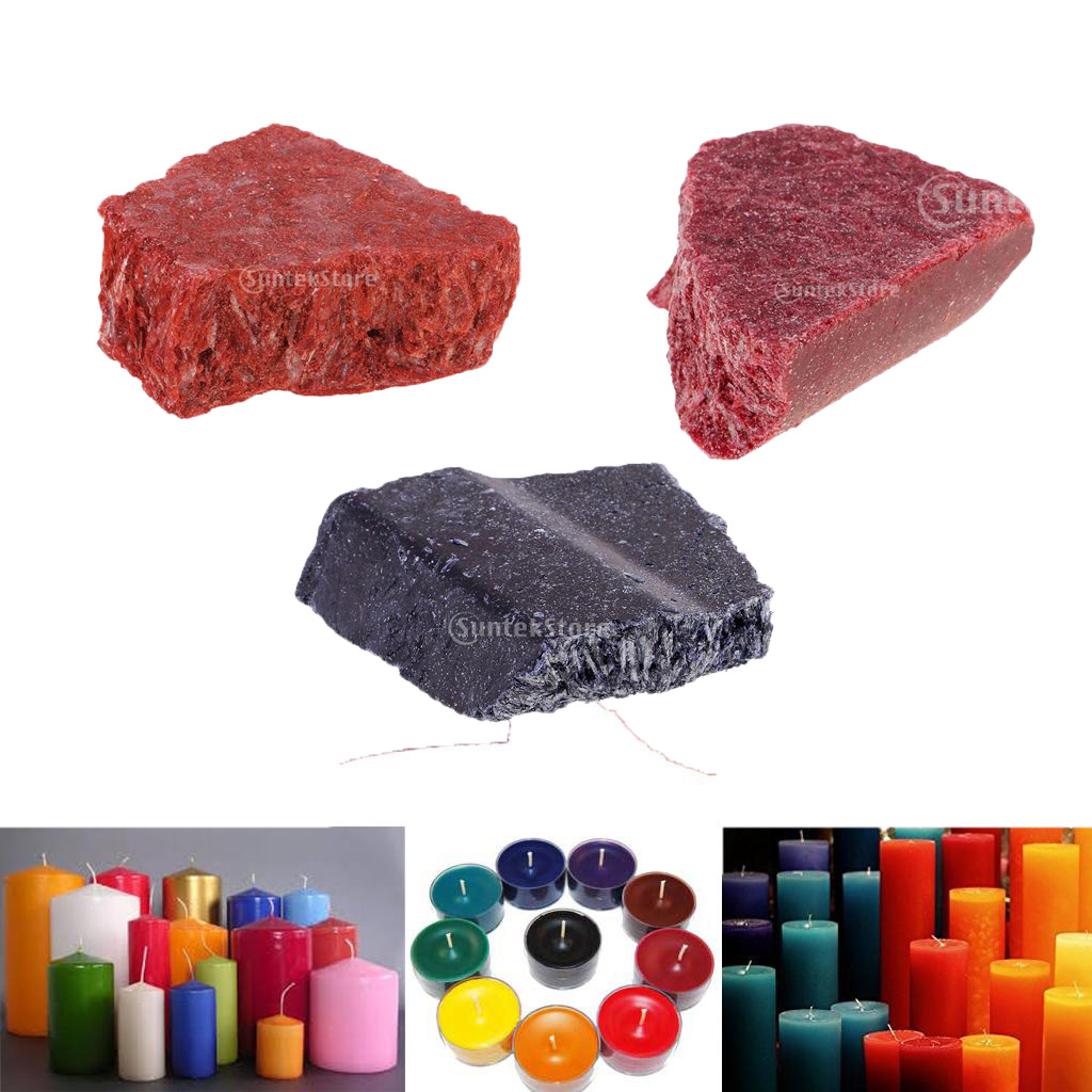 4 Colors Candle Dye Pigment Chips DIY Special Plant Candle Coloring Materials
