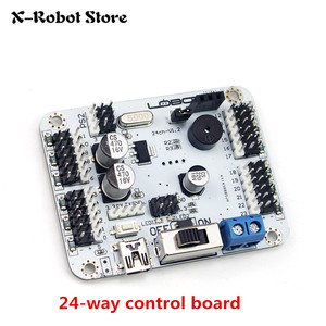 Image 4 - 6 24 32 Channel Robot Servo Motor Control Board & PS2 Controller + Receiver for Hexapod manipulator Mechanical Arm Bipedal Robot