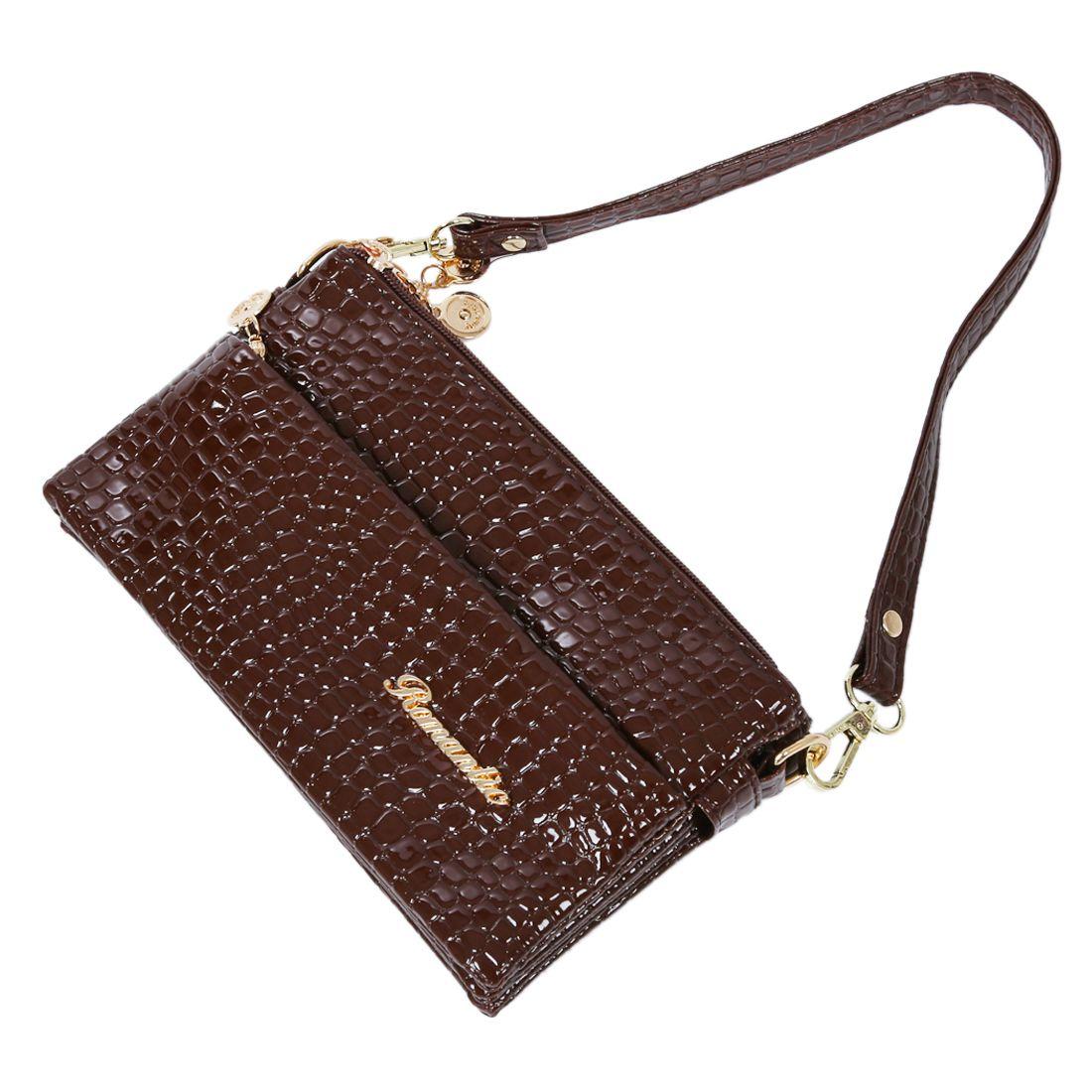 bolsos VSEN de hombro para mujer de de patrón bolso mano pequeño dPHPv