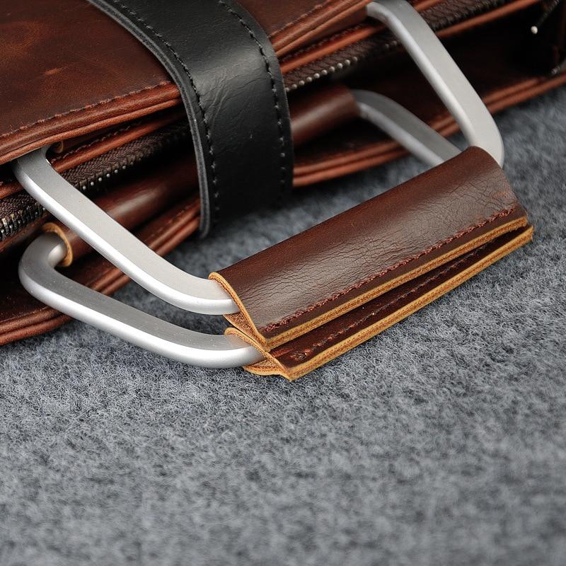 HTB19a uaiHrK1Rjy0Flq6AsaFXab 2019 Designer Men's Briefcase Vintage Shoulder Bags Crazy Horse Leather Crossbody bags Business Laptop Handbag Men travel bags