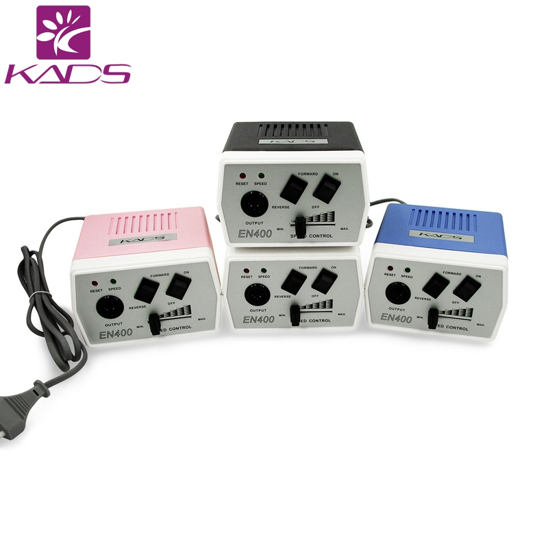 KADS 30000RPM Nail Equipment Manicure Tools Pedicure Drill Machine Handle & Drill Bit Set Tools Four Color Choice