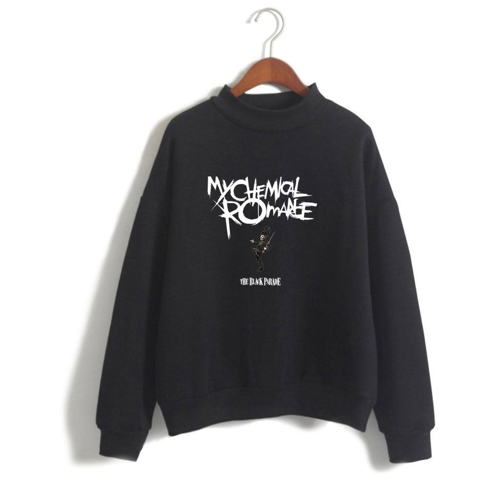 My Chemical Romance Hoodies Men Women Black Parade Punk Emo Rock Hoodie Sweatshirt Fall Winter Tracksuit Tops Turtleneck Clothes