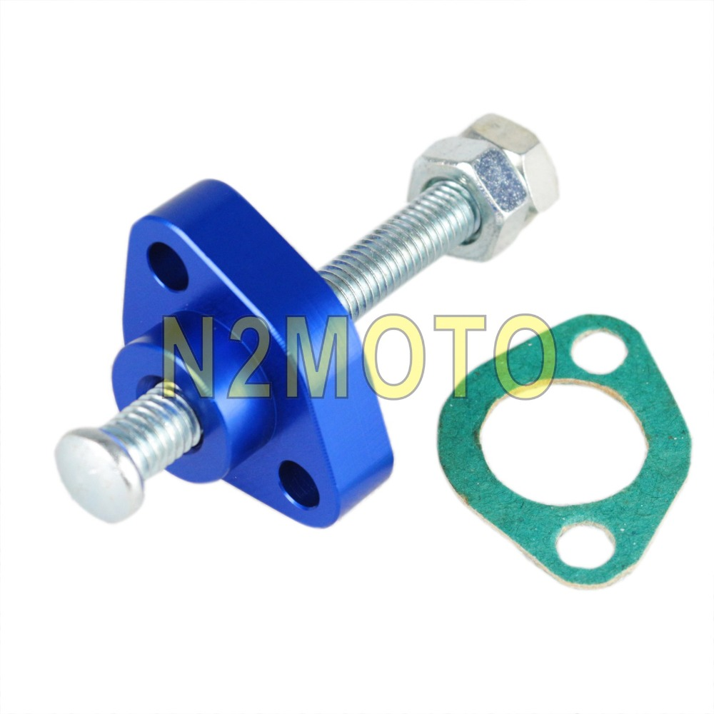 Manual Cam Timing Chain Tensioner for Street HONDA CBR 1100XX 900RR 600F3 F4 F4I VTR 1000 CB 600F CB 900F  1997 2007Blue|cam timing chain|cam chain tensioner|honda cam chain tensioner - title=