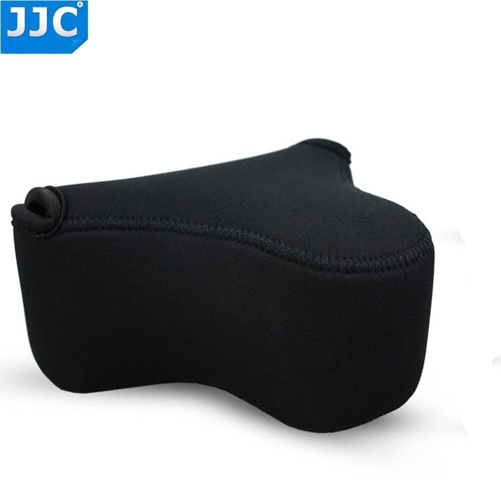 Mirrorless Camera Pouch Case JJC Ultra-Light Camera Bag for Sony A6500 A6300 A5100 NEX-3N Fujifilm X-M1 X-T10 X-A5 Canon M10 SX530 Nikon L820 L840 Olympus E-P5 E-PL3 a Lens up to 4.9x2.9x5.1