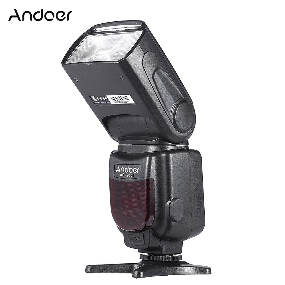 Andoer AD-960II Универсальный ЖК-Дисплей GN54 На-камера Вспышка Света Вспышки Speedlite Вспышка для Nikon Canon Pentax DSLR Камеры