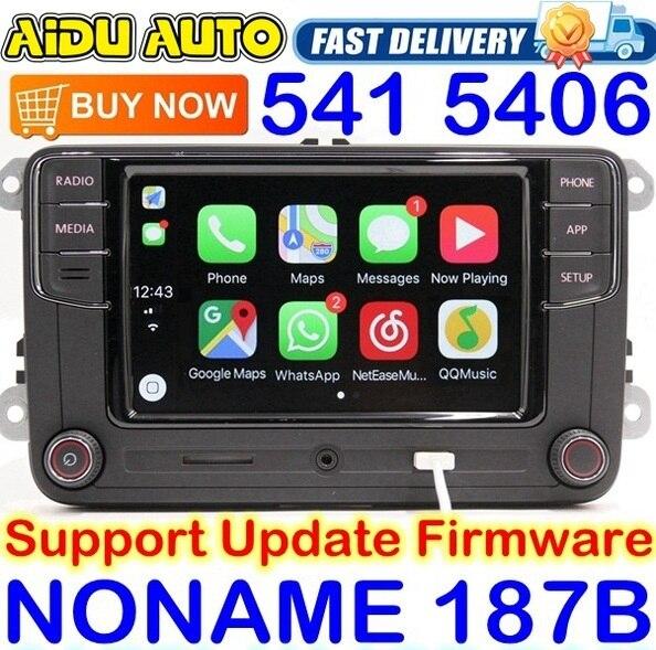 Noname Carplay RCD330 RCD330G בתוספת 6.5 MIB רדיו עבור פולקסווגן גולף 5 6 ג טה CC Tiguan פאסאט פולו טוראן 187B RCD510 RCN210 5406 5314