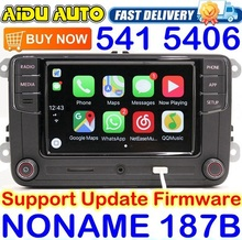 Noname Carplay RCD330 RCD330G Plus 6.5 MIB Radio For VW Golf 5 6 Jetta CC Tiguan Passat Polo Touran 187B RCD510 RCN210 5406 5314 vw original radio stereo rcd510 camera verion radio for vw golf 5 6 jetta cc tiguan passat polo with code