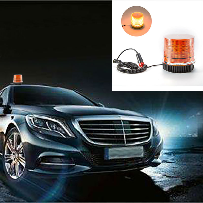 Car LED Caution Lights Car Explosion Flashing Highly Bright Frequent Flashing Lights Circular Ceiling Lights Safety Signal Lamp lust caution 3001