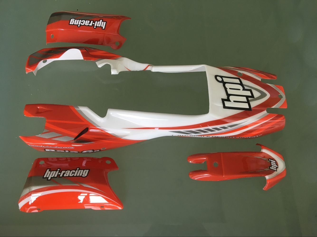 HPI BAJA 5B BUGGY PAINTED BODY CAR SHELL fit on any Baja 5B ss 2 0