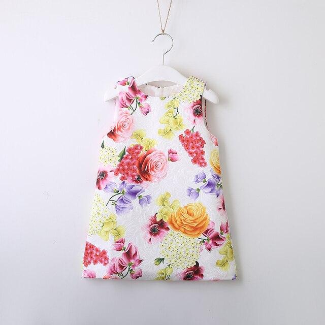 6968afcc5d0f Children Price Dress Jasmine Rose Flower Jacquard Girl Dresses Kids ...