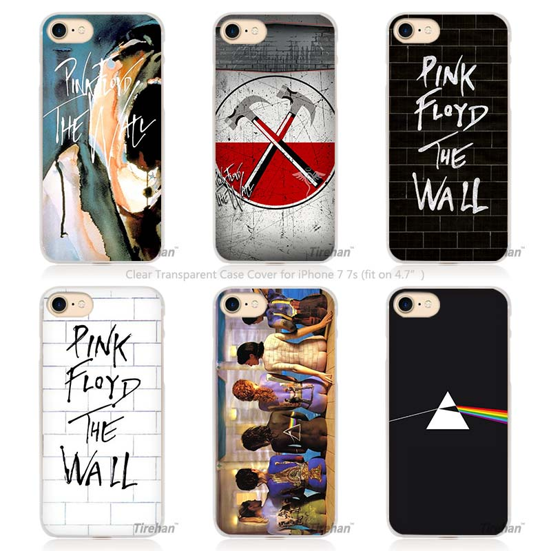 Hot Sale pink floyd Hard Transparent Phone Case Cover Coque for Apple iPhone 4 4s 5 5s SE 5C 6 6s 7 Plus