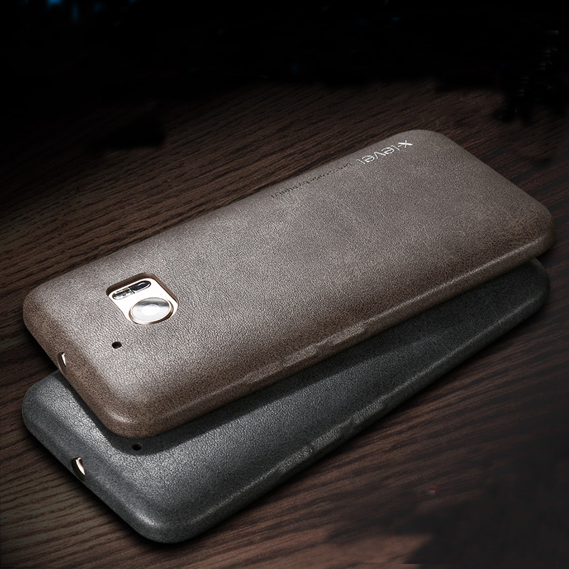 X-Level Luxury Retro PU Leather Case For HTC 10 Back Case Cover for Htc One M10/10 Lifestyle Vingate Leather Phone Case Capa