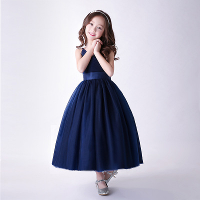 Girls Long Dresses for Party and Wedding Children Princess Dress Flower Girl Dresses Ball Gown Party Dress