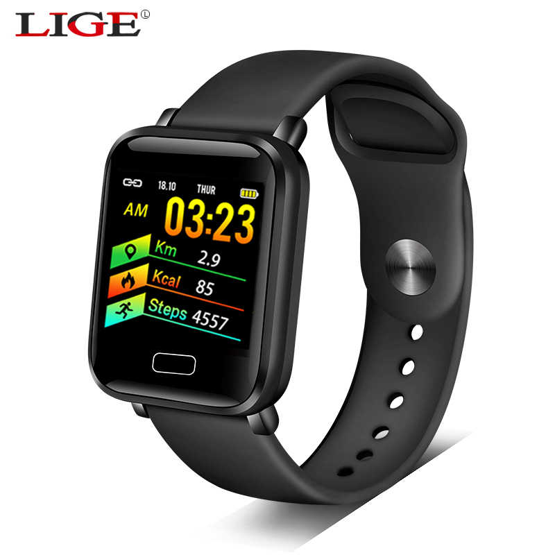 2019 New smart watch For iPhone And android phone Heart rate blood pressure monitor fitness tracker Sport Waterproof smartwatch