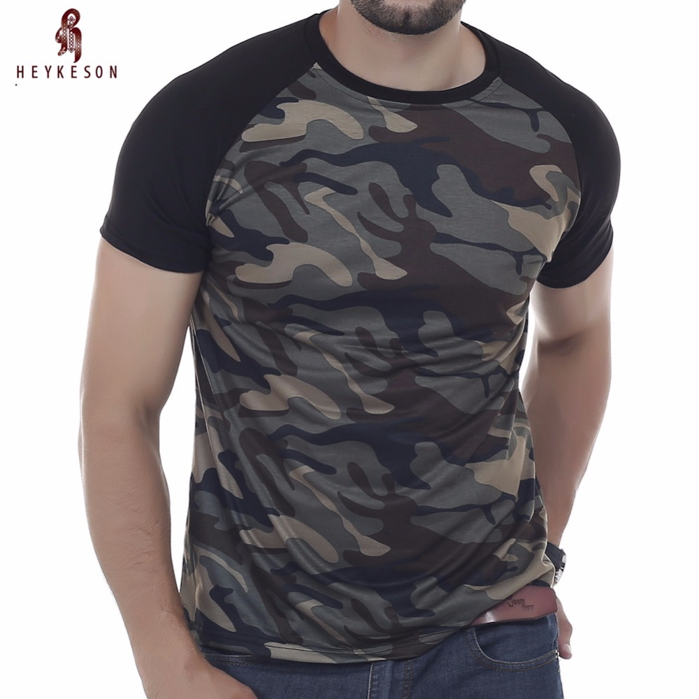 Brand Men S T Shirt 2017 Summer Military Camouflage Fashion O Neck Short Sleeved Tees Male