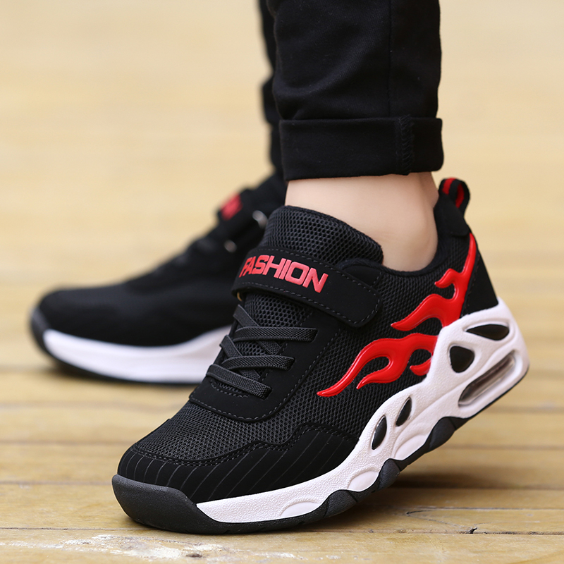 2019 Spring Autumn Children Shoes Kids Running Shoes For Boys Fashion Breathable Sport Sneakers Boys School Shoes Size 29-39 B55(China)
