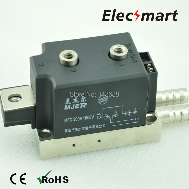 THYRISTOR-DIODE MODULE MFC300A  1600V half thyristor Water-Cooling Type new brand thyristor module mfc mfa mfk mfx 600a welding joint scr module silicon control module compression joint