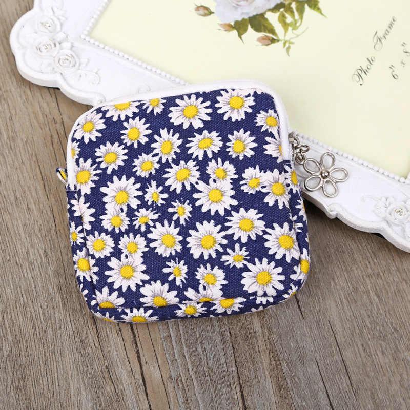 สุขาภิบาลผ้าเช็ดปากผ้าเช็ดตัวจัดเก็บบัตรเครดิตกระเป๋าผู้ถือกระเป๋าสุขาภิบาล Pad กระเป๋าในครัวเรือนองค์กร