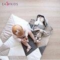 Новые детские игры pad судорога сканирование милый творческий складная животных игрушки куклы ребенок хлопок одеяло Тепло зимой на Рождество подарок