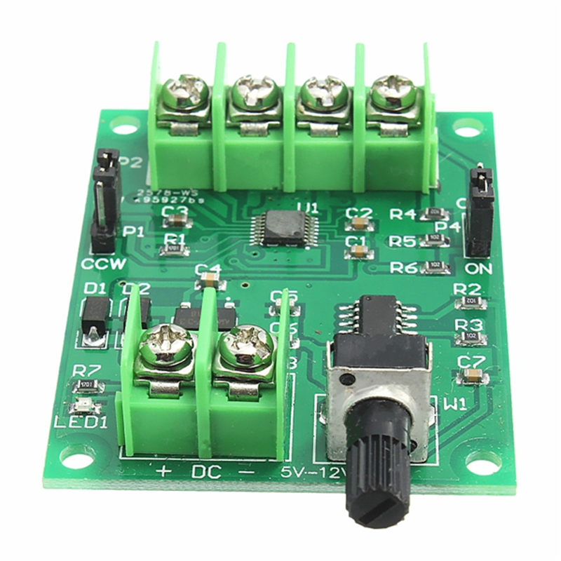 High Quality 5V-12V DC Brushless Motor Driver Board Controller For Hard Drive Motor 3/4 Wire NewHigh Quality 5V-12V DC Brushless Motor Driver Board Controller For Hard Drive Motor 3/4 Wire New