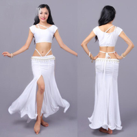 Professional Belly Dance Costume Sets for Women Sexy Oriental Dance Suits nice Stage Performance Clothes one size