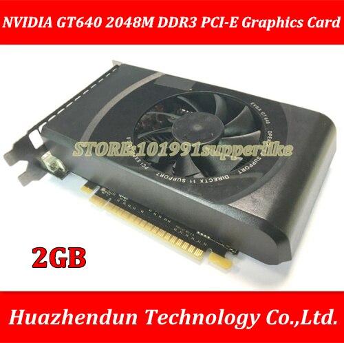 все цены на DEBROGLIE 1PCS Brand New NVIDIA GeForce 640 2GB DDR3 PCI-E ATX GT640 Graphics Video Card онлайн