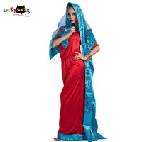 Women Sexy Indian Women Bollywood Movie Dance Vintage Costume Dress Adult Cosplay Party Fancy Dress Female Halloween Costumes