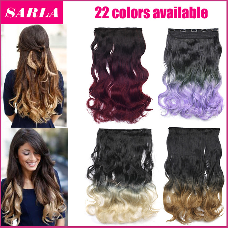 1pc clip in ombre hair extension 2 tones gradient 50cm 20inch 130g 1pc clip in ombre hair extension 2 tones gradient 50cm 20inch 130g heat resistance real natural synthetic hair extensions 888 on aliexpress alibaba pmusecretfo Images