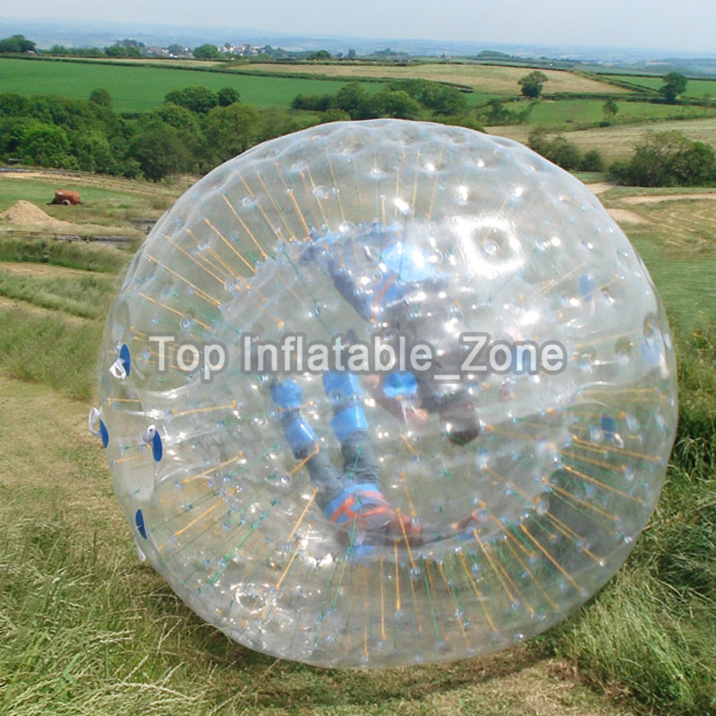 PVC inflatable body zorb ball 3m dia inflatable human hamster ball for sale customized color inflatable zorb ball for human
