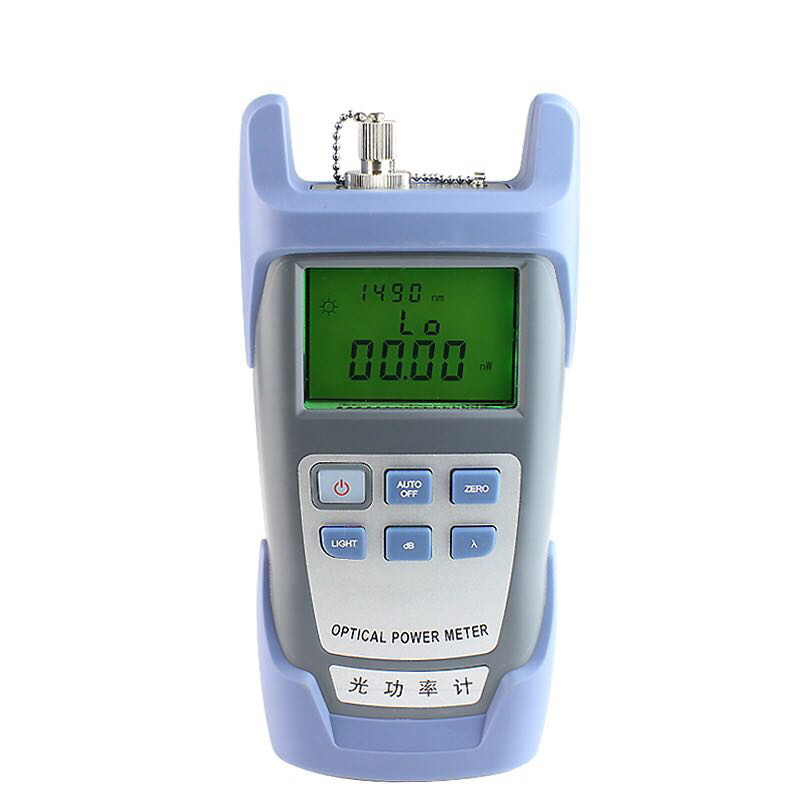 Handheld Fiber Optic cable Tester Optical Power Meter -70~+3dBm with sc/fc connector