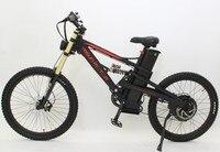 E Motocycle Style Black 48V 1500W Super Mustang Mountain Ebike 48V18Ah Li Ion Battery Electric Bicycle
