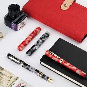 Image 2 - Moonman N2 ручка для фонтанов, тонкий наконечник для домашнего вакуумного наполнения чернилами, офисные канцтовары, мини подарки, учебные принадлежности, короткое устройство для практики