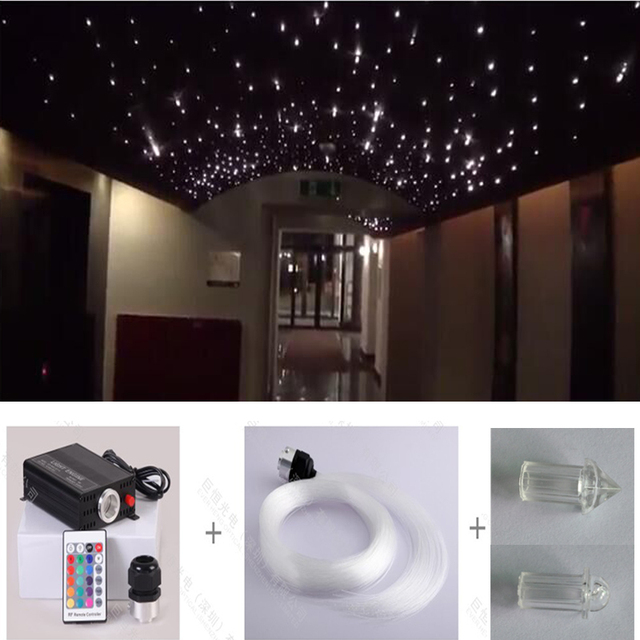 Promotion free shipping rgb color changeable 16w led ceiling star promotion free shipping rgb color changeable 16w led ceiling star optic fiber lights kits with 075 aloadofball Image collections