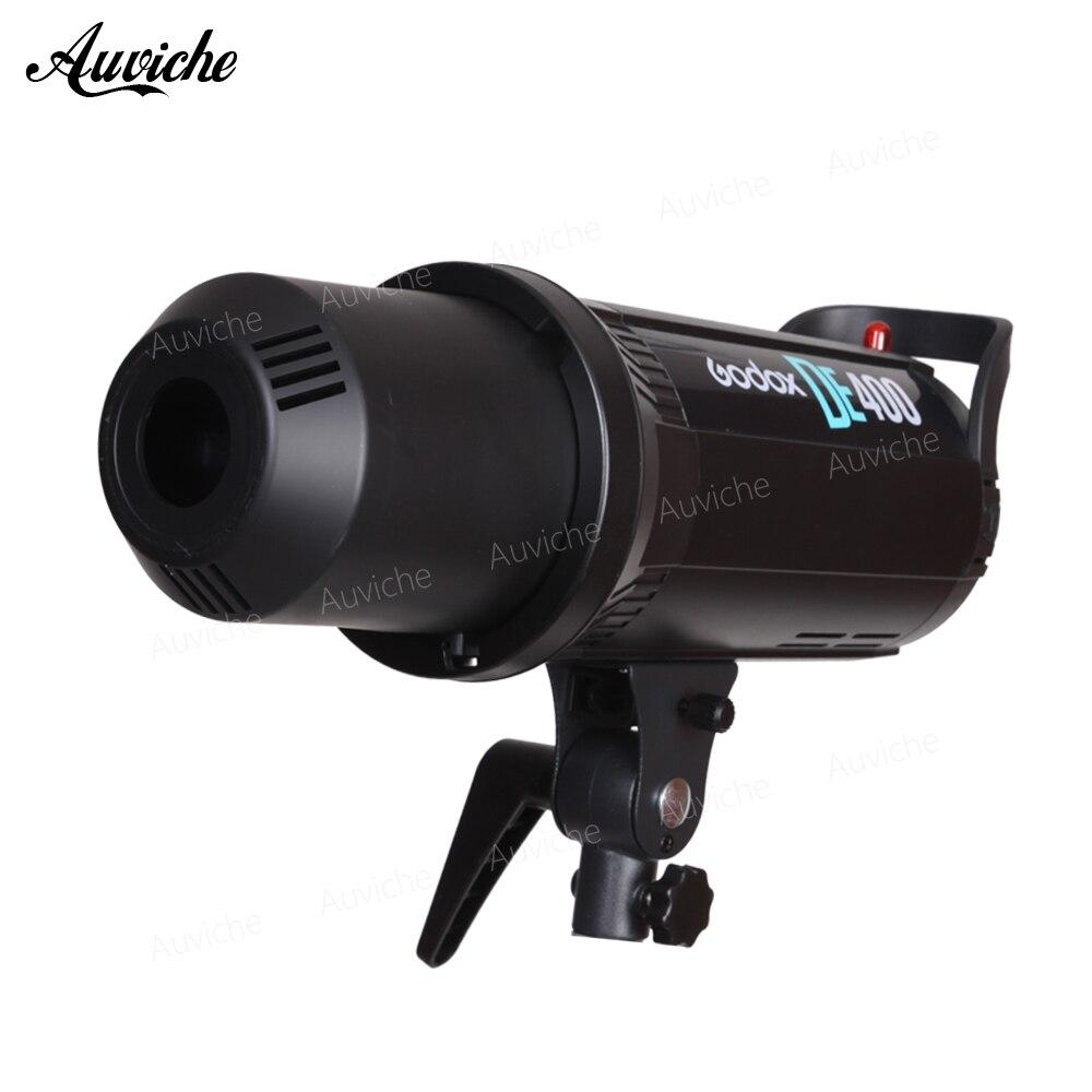 Godox DE400 студия вспышки света 400 Вт GN65 Compact Strobe освещение фотографии лампы Глава 400Ws 110 В/220 В