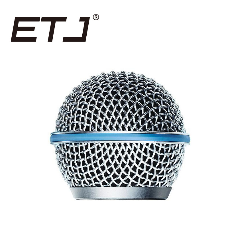 Free Shipping!! Top Quality Replacement Ball Head Mesh Microphone Grille Accessories For BETA58 BETA58A SM58 SM58SK SM58LC